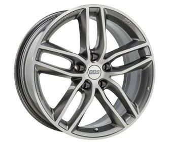 Диск колесный BBS SX тип SX0502 platinum silver diamond-cut 8,5x19 5x112 ET46 DIA82,0 +PFS kit